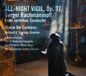 All-Night Vigil, Op. 37 - CD Cover