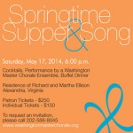 Springtime Supper & Song