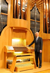 Organist Paul Skevington has been at St. Luke Parish in McLean since 1993