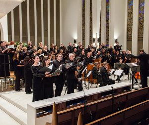 Washington Master Chorale in concert (October 2017). Photo credit, Arts Laureate