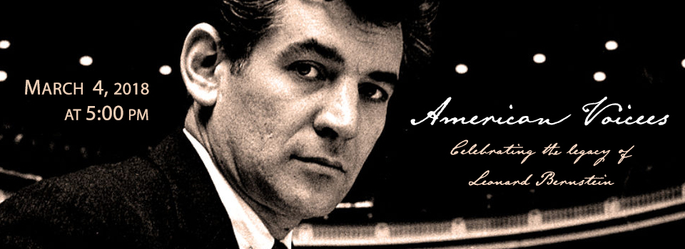 Leonard Bernstein banner for homepage
